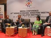 Efectuarán Conferencia de Ministros de Economía de la ASEAN