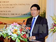Diplomacia de Vietnam aporta a la paz regional y mundial