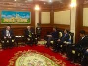 Encargado de negocios de Colombia concluye visita a Ciudad Ho Chi Minh