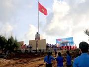 Inaugurada asta de bandera en extreme noreste de Vietnam