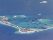 Pentágono dice que China intensifica construcción en Mar Oriental