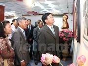 Exhibición en Vientiane sobre diplomacia vietnamita