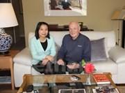 Exembajador australiano: Vietnam, mercado potencial de su país