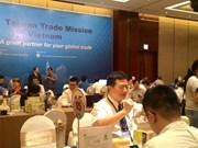 Taiwán incentiva cooperación comercial con Ciudad Ho Chi Minh