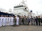 Barco de guardacostas indio visita Ciudad Ho Chi Minh