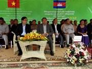 Inauguran procesador vietnamita de látex en Cambodia