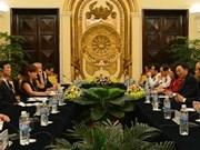 Hanoi y Fukuoka promueven cooperación comercial