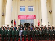 Resaltan colaboración en defensa entre Vietnam y Laos