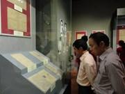 Exposición sobre la prensa revolucionaria vietnamita