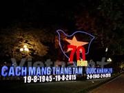 Hanoi se prepara para Día Nacional