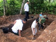 Descubren objetos prehistóricos en Ha Tinh
