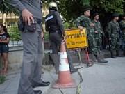 Policía tailandesa busca una sospechosa de atentado