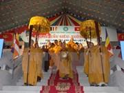Budismo vietnamita y laosiano fomentan cooperación