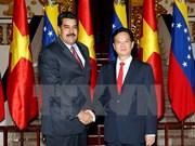 Vietnam y Venezuela fomentan nexos de cooperación