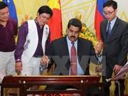 Presidente venezolano Nicolás Maduro concluye visita a Vietnam