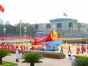 Envían líderes mundiales felicitaciones a Vietnam por Día Nacional