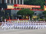 Gran mitin marca 70 aniversario del Día Nacional
