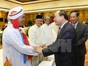 Viceprimer ministro recibe a dignatarios religiosos