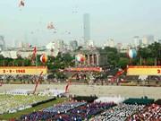 La histórica Plaza Ba Dinh el día 2 de septiembre de 2015