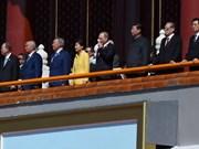 Presidente asiste a ceremonia del triunfo sobre fascismo en China