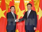 En Beijing se reúnen Truong Tan Sang y Xi Jinping