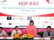Efectuarán Feria de Turismo Internacional en Ciudad Ho Chi Minh