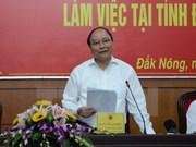Necesita Dak Nong aprovechar potenciales para el desarrollo económico