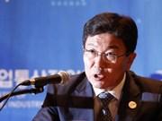 Ministro sudcoreano exhorta pronta aprobación de TLC con Vietnam