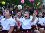 Inauguran nuevo año escolar en Vietnam
