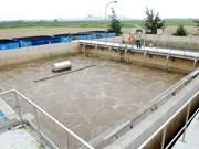 En servicio planta de tratamiento de aguas residuales en Bac Ninh
