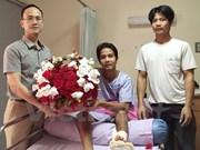 Repatrían a ciudadano vietnamita herido en ataque en Bangkok