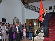 Siguen actividades conmemorativas del Día nacional en exterior