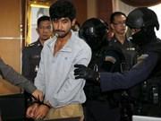 Sospechoso detenido admite implicación en atentado de Bangkok