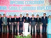 """Mecanismo """"ventanilla única"""" vietnamita integrado a red de ASEAN"""