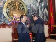 Funcionarios judiciales de Laos y Cambodia reciben distinción vietnami