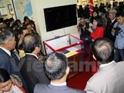 Exposición Hoang Sa y Truong Sa en Lam Dong