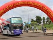 Inauguran vía de transporte trasfronterizo Cambodia-Laos-Vietnam