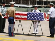 Repatrían restos de soldados estadounidenses desaparecidos en acción