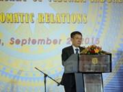 Vietnam e Indonesia mantienen fuertes lazos políticos- diplomáticos
