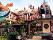 An Phu, pagoda revestida con mayor cantidad de piezas cerámicas rotas