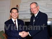 Hanoi y Londres fomentan cooperación financiera