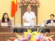 Debaten agenda para décimo período de sesiones del Parlamento