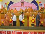 Inician construcción de Academia Budista de Vietnam en Hue