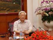 Secretario general del PCV parte a Japón