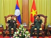 Destacan cooperación entre cuerpos de artillería de Vietnam y Laos