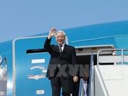Máximo dirigente vietnamita inicia visita oficial a Tokio