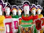 Muñeco de papel, juguete tradicional del Festival de Medio Otoño