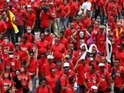 Manifestaciones a favor del gobierno en Malasia