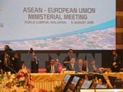 UE se compromete duplicar asistencia financiera para ASEAN