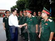 Premier elogia esfuerzos de Zona Militar IV por consolidar defensa pop